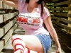 thumbs amanda marie scott 12 Meet Road Kill T Shirts Model Amanda Marie Scott