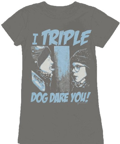 a christmas story i triple dog dare you t shirt Funny Christmas T Shirts for Extra Happy Holidays