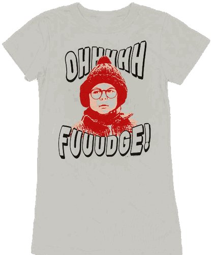 a christmas story oh fudge t shirt Funny Christmas T Shirts for Extra Happy Holidays