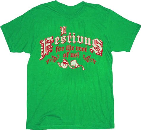 a festivus for the rest of us t shirt Funny Christmas T Shirts for Extra Happy Holidays