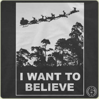 i want to believe t shirt Funny Christmas T Shirts for Extra Happy Holidays