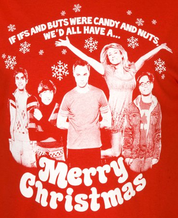if ifs and buts were candy and nuts wed all have a merry christmas t shirt Funny Christmas T Shirts for Extra Happy Holidays