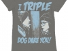 thumbs a christmas story i triple dog dare you t shirt Funny Christmas T Shirts for Extra Happy Holidays