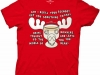 thumbs christmas vaction moose mug t shirt Funny Christmas T Shirts for Extra Happy Holidays