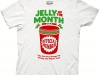thumbs jelly of the month t shirt Funny Christmas T Shirts for Extra Happy Holidays