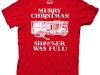thumbs merry christmas shitter was full t shirt Funny Christmas T Shirts for Extra Happy Holidays