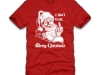 thumbs santa i dont exist merry christmas t shirt Funny Christmas T Shirts for Extra Happy Holidays