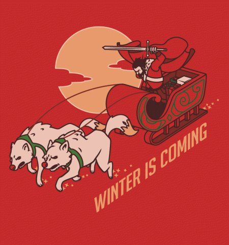 winter is coming t shirt Funny Christmas T Shirts for Extra Happy Holidays