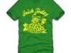 thumbs irish today hungover tomorrow t shirt Funny St. Patricks Day T shirts