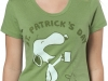 thumbs snoopy st patricks day cheer t shirt Funny St. Patricks Day T shirts