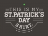 thumbs this is my st patricks day shirt Funny St. Patricks Day T shirts
