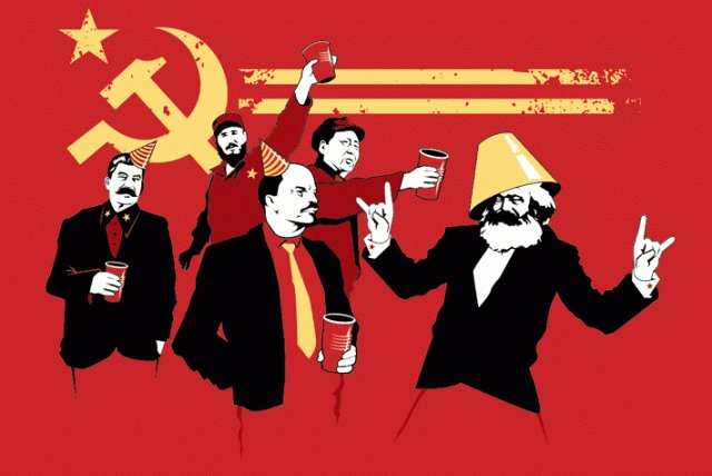 Christmas Presents Communist-party-tees