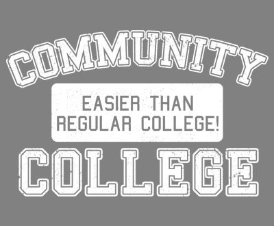 Community College Tshirt big