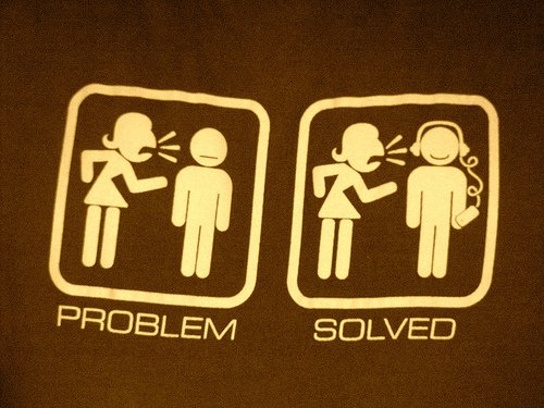 problem solved tee shirt Escape the Noise Problem Solved T Shirt