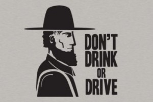 amish dont drink or drive 300x200 Busted Tees: Funny t shirts Top 20