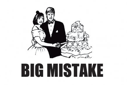 Big Mistake Wedding Cake Tshirt
