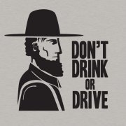 Amish: Don\'t Drink or Drive Tshirt