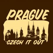Prague Czech it Out Tee
