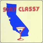 Stay Classy California Tshirt