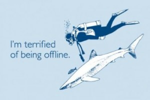 terrified offline 300x200 Busted Tees: Funny t shirts Top 20