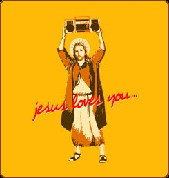 jesus loves you tshirt Top  11 Funny Jesus Tshirts