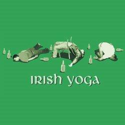 irish yoga tshirt Irish Yoga T Shirt