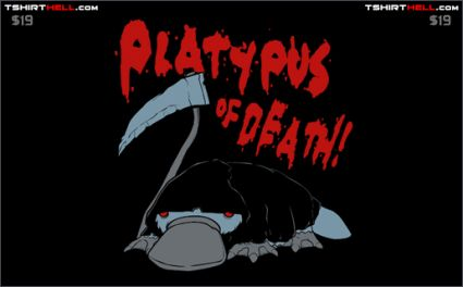 platypus of death tshirt Torso Pants Ranked Worst to First Part 2