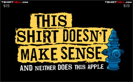 this shirt doesnt make sense and neither does this apple shirt Torso Pants Ranked Worst to First Part 2