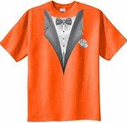 Tuxedo Tee Shirt Orange
