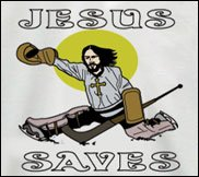 jesus saves tshirt hockey Top  11 Funny Jesus Tshirts