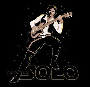 guitar solo tshirt Star Wars Guitar Solo Tshirt