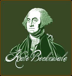 kate beckinsale george washington portrait tshirt Kate Beckinsale George Washington Portrait T Shirt