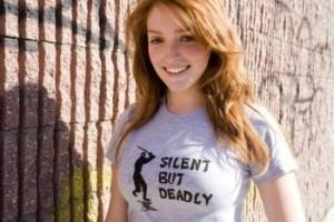 silent but deadly tshirt 300x200 Silent But Deadly Ninja T Shirt