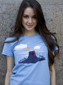 baking soda volcano tshirt Baking Soda Volcano T shirt