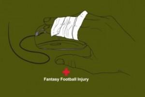 fantasy football injury tshirt 300x200 Fantasy Football Injury T shirt