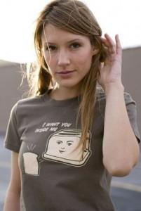 i want you inside me tshirt 201x300 Toast and Toaster I Want You Inside Me T Shirt