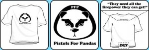 pistols-for-pandas-tshirt