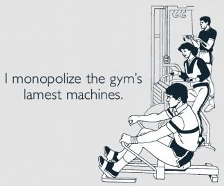 i-monopolize-the-gyms-lamest-machines-tshirt
