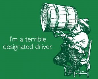 im a terrible designated driver tshirt Im a Terrible Designated Driver T Shirt