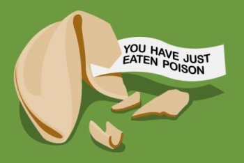 you have just eaten poison tshirt Fortune Cookie You Have Just Eaten Poison T Shirt