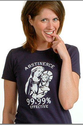 abstinence 99.99 effective tshirt Top  11 Funny Jesus Tshirts