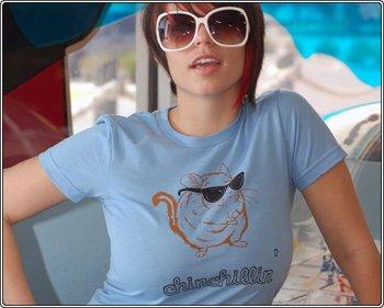 chinchillin-t-shirt