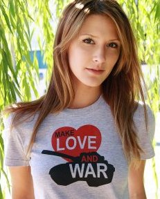 make love and war tshirt Make Love and War Tshirt