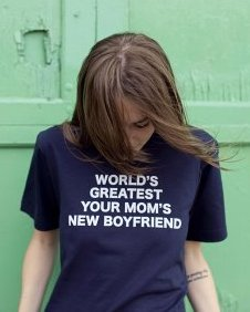 worlds greatest your moms new boyfriend tee Worlds Greatest Your Moms New Boyfriend T Shirt