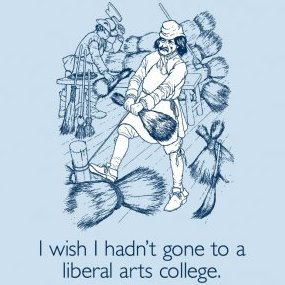 i-wish-i-hadnt-gone-to-a-liberal-arts-college-tee
