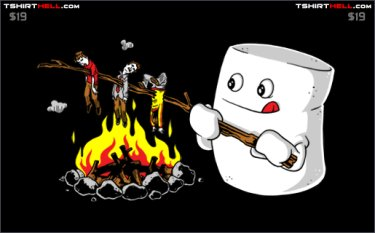 marshmallow-roast-tee