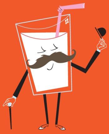 milk mustache tee Milk Mustache T Shirt