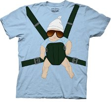 the hangover baby sling t shirt The Hangover Baby Sling Tshirt