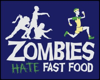 zombies-hate-fast-food-tee