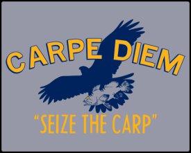 carpe diem seize the carp shirt Carpe Diem – Seize the Carp Shirt